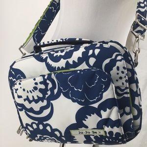 Ju-Ju-Be Diaper Bag Floral Messenger 14 x 10